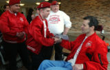 (ENGLEWOOD, Colo., March 1, 2005) Guardian Angels Joe Moran (cq)  Ryan Warren (cq), and Peter...
