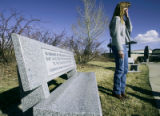 (LAKEWOOD, Colo., March 16, 2005) Donna Fields, from Bozeman, Montana reflects after the...