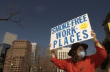 (DENVER shot on 3/16/05) Carole (cq Carole from subject) Jenkins, Grand Junction, CO, attends the...