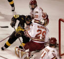 (DENVER, COLO.,  MARCH 4, 2005)   Colorado College Tigers #21, Brett Sterling(cq Brett Sterling)...