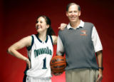(DENVER, Co. - SHOT 3/18/2005) 2005 All-Colorado girls' basketball player of the year Abby Waner...