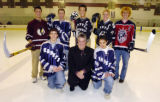 (ENGLEWOOD Colo., March 20, 2005)  The 2005 All-Colorado ice hockey team at Family Sports Center...