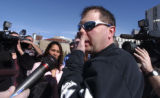 Denver, Co. Shot on 2/20/05 -   Scott Roenfeldt, who is the father of a young boy who was a victim...