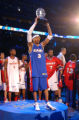 Denver, Colo., photo taken February 20, 2005- Philidelphia 76ers eastern conference all-star Allen...
