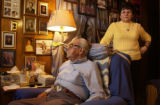 (ENGLEWOOD, CO., March 25, 2005) Donald and Grace Hooten (l. and r., respectively) lost a son,...