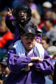 (Denver,CO - Shot on 4/12/04)  Fans of the Colorado Rockies, young and old alike, got their first...