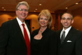 (Denver, Colo., March 12, 2005) Jay and Kristina (Arapahoe House co-founder) Davidson with Stephen...