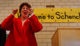 Denver, Co.10/7/04 -- At the Schenck Elementary School, 3rd grade teacher Diane Palmer was one of...