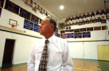 (NUCLA, Co., SHOT 10/8/2004) Ken Soper, 66, has been head coach of the Dolores County High School...