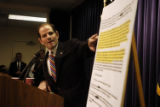 NYT13 - (NYT13) NEW YORK -- Oct. 24, 2004 -- INSURE-ASSESS -- Eliot Spitzer, the state attorney...