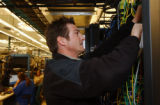 (LOUISVILLE, Colo., Oct.  29, 2004)J on Lallement, Engineering Technician for Cable Lab in...