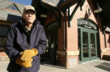 Preservationist Ron Neely (cq) stands in front of the visitors center in  Georgetown on Monday...