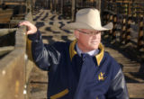 National Western Stock Show president and C.E.O. Pat Grant(CQ) poses in the yards on the Stock...