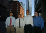 (DENVER COLORADO April 20,2004 ) Jeremy E. Barron, Brian Van Mankwitz, Ryan O'Shaughnessy and...