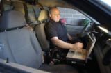 (DENVER, Colo., Dec. 21, 2005) new patrol car laptops linked to an improved records database will...