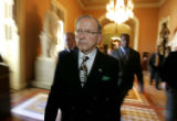 (NYT49) WASHINGTON -- Dec. 21, 2005 -- CONGRESS-ARTIC-DRILLING-2 -- An angry Sen. Ted Stevens...