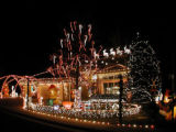"Holiday Lights. 1188 Clubhouse Dr. Photo by Kevin Hart/Special to the News. ""We start..."