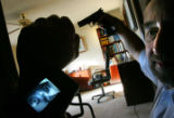 Yuriy Umanskiy demonstrates his Infra Red Pistol Mounted Camera System that recently gave him...