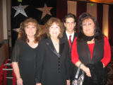 VOA - 10th Anniversary of The Guild of Volunteers of America honoring Irene Zarlengo. From left,...