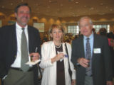 Alzheimer's Association Memories in the Making Art Auction - From left, Bill Avery, Kathy Seidel,...