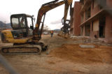 photo by Carol Lawrence 2/2/06 Many of the northern barracks of Fort Carson have been gutted and...