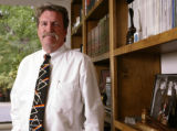 KAS034 Peter Meersman, president of the Colorado Restaurant Association, in his office on...
