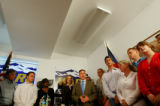 GOP candidate Marc Holtzman (cq, center in blue tie) lost his appeal before the Colorado Supreme...