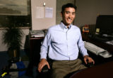 KAS045 Kenneth Ho (cq), senior associate at Cherokee Investment Partners, in his office on Friday,...