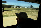 04/15/2004 Tucson, Arizona-David Jones, one of two pilots from the Doolittle Raiders still living,...