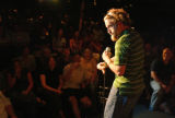 KAS133 The audience reacts to one of Josh Blue's (cq) jokes at Comedy Works on Friday, June 23,...