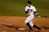 Colorado Springs Sky Sox Ryan Shealy drives in two runs with a single in fifth inning action...