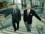 Denver, CO Jan. 25, 2005 Daniels& Associates executives, Brian Deevy (right,) Chairman and CEO...