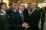 Chipotle Mexican Grill Inc. (CMG) founder and chief executive officer Steve Ells enjoys watching...