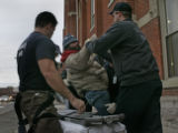 Station 11 District 2 firefighters reponds to a man passed out on the street.  Engineer Dean...