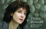 PLEASE cutout foto of debra winger black and white channel item