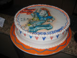 Denver Broncos AFC Championship Game. January 22, 2006. Epicurean Catering's cakes prepared for...