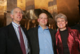 (Denver, Colo., January 20, 2006) Honorary chair Joshua Hanfling, center, with his parents, Robert...