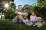 Ronald and Stephanie Brandt at their home in Johnstown, Colo., on Sunday, June 13, 2004.  When...