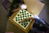 (Cherry Hills Village, Colo., June 14, 2004) Kevin McCrea, 13, and Andrew Frederick, 12, play...