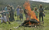 State wide fire bans and repeated warnings by the National Forest service didn't stop member of...