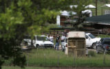 In Old Snowmass, Colo. on Wednesday afternoon, July 5, 2006, Pitkin County Sheriff's officers...