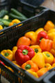 The Farmer's Market in Cherry Creek North on July 8, 2006.    Vegetables are from Palizzi Farm in...