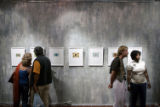 (NYT60) SAN MIGUEL DE ALLENDE, Mexico -- July 20, 2006 -- PRISON-ARTIST-3 -- The opening of a show...