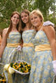 (Denver, Colo., June 24, 2006) Madeline Caudle, Caroline Butler, and Kelly Buntmann.  Opening of...