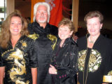 Inaugural Dragon Boat Gala celebrating the 6th Annual Colorado Dragon Boat Festival- From left,...