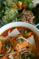 Bun Rieu is a colorful concoction of goodies. Owner Phuoc  Pham (cq) 44 opened his Vietnamese...