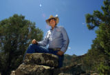 (PRICE, Utah, SHOT 6/30/2004) Waldo Wilcox, 74, the former owner of the Wilcox Ranch near Price,...