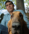 (ENGLEWOOD, COLO., MAY 5, 2004)  Richard Berrelez, 54, founder of ALIE Foundation poses for a...