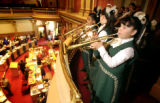 (DENVER, Colo., May 5, 2004)  Members of El Mariachi Juvenil de Bryant Webster play in the Senate...