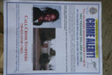 Joslynn Thornton's photo is shown on a flyer circulated by her family who are searching for the...